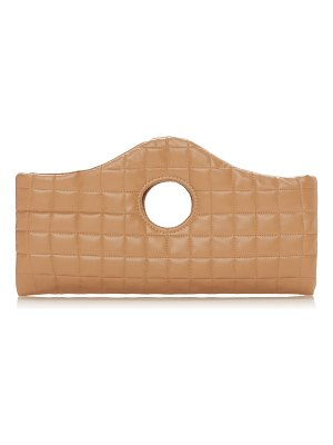 A.W.A.K.E. Mode liv quilted faux leather clutch