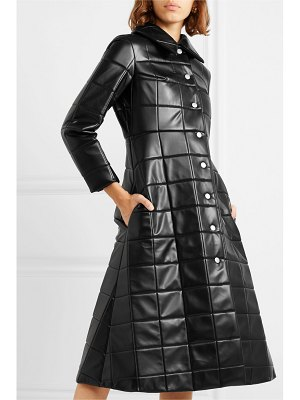 A.W.A.K.E. Mode miss roboto quilted faux leather coat