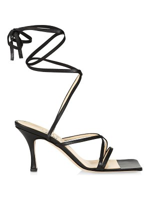 A.W.A.K.E. Mode ophelia ankle-wrap leather sandals