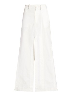 A.W.A.K.E. Mode slit maxi pant skirt