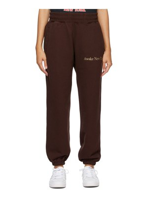Awake NY classic outline logo lounge pants