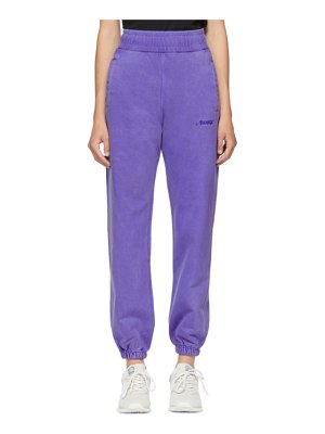 Awake NY embroidered logo lounge pants