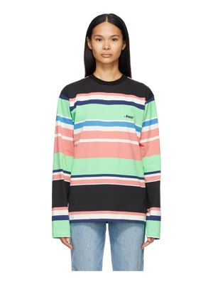 Awake NY engineered stripe long sleeve t-shirt
