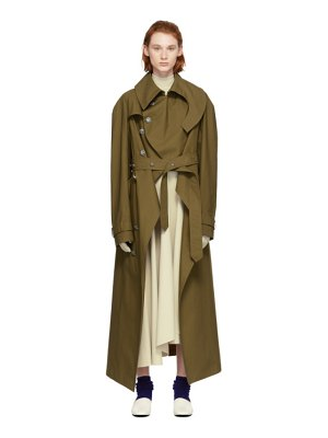 A.W.A.K.E. Oiled Cotton Trench Coat