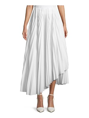 A.W.A.K.E. Pleated Maxi Skirt