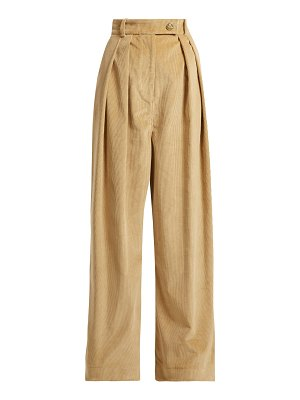 A.W.A.K.E. Mode wide leg corduroy trousers