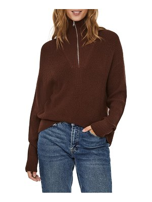 AWARE BY VERO MODA half-zip sweater