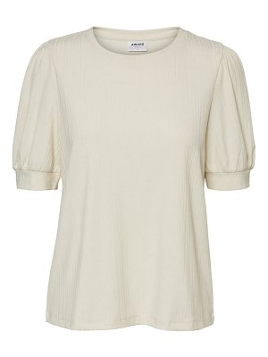 AWARE BY VERO MODA lerry puff sleeve t-shirt