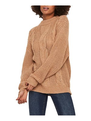 AWARE BY VERO MODA lou cable knit sweater