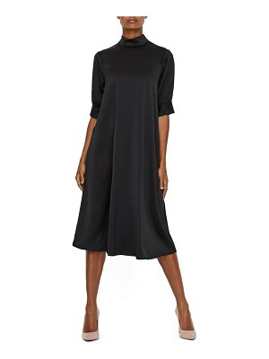 AWARE BY VERO MODA marlin mock neck midi dress