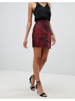 AX Paris 2-in-1 Cami Skater Dress With Printed Skirt