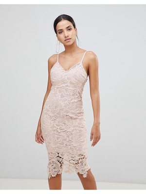 AX Paris Lace Cami Midi Dress