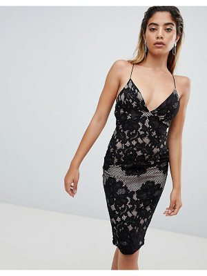 AX Paris lace midi pencil dress
