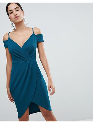 AX Paris Wrap Front Midi Dress