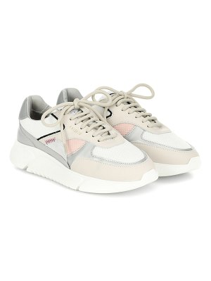 Axel Arigato genesis mesh and leather sneakers