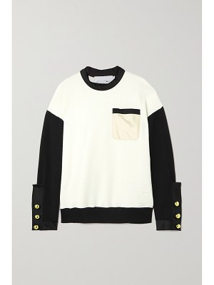 AZ Factory free to organic cotton and pyratex seacell-blend sweatshirt