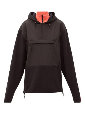 Aztech Mountain the hut fleece-panelled hooded sweatshirt