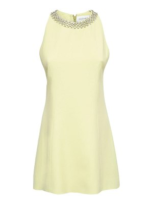 AZZARO Heleanor viscose blend mini dress