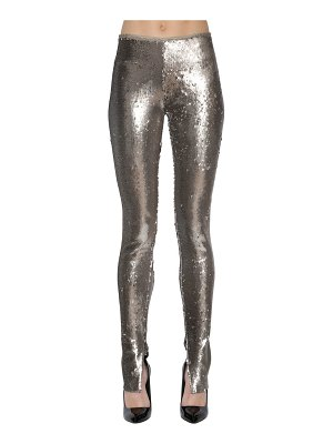 AZZARO Sequined leggings