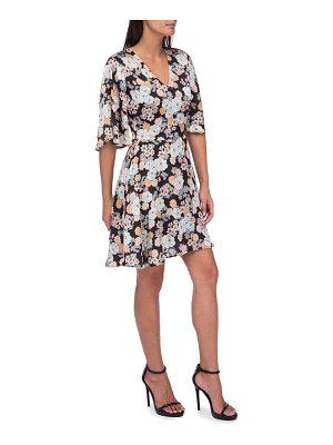 B Collection by Bobeau Florice Floral Fit-&-Flare Dress