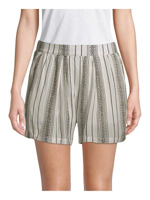 B Collection by Bobeau Printed Stretch Shorts