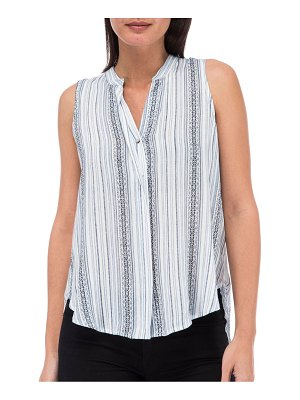 B Collection by Bobeau Striped Sleeveless Top
