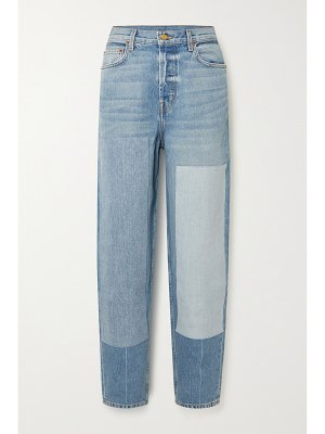 B SIDES claude high-rise tapered jeans