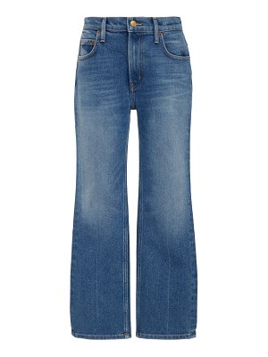 B SIDES field cropped mid-rise straight-leg jeans