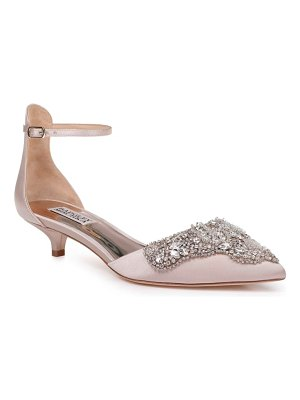 Badgley Mischka fiana ankle strap pump