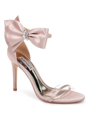 Badgley Mischka Collection badgley mischka fran bow ankle strap sandal