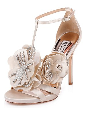 Badgley Mischka Lisa Two-Tone Sandals