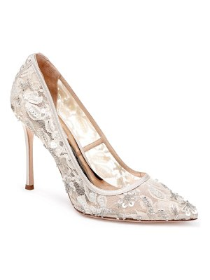 Badgley Mischka Collection badgley mischka veronica lace pump