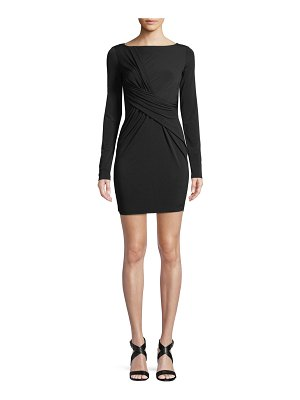 Bailey 44 Clandestine Draped Long-Sleeve Dress