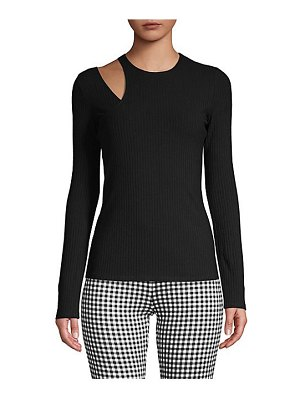 Bailey 44 happy together ribbed cutout top