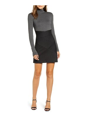 Bailey 44 holly long sleeve body-con dress
