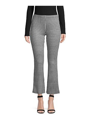 Bailey 44 puppy love gingham print flare pants