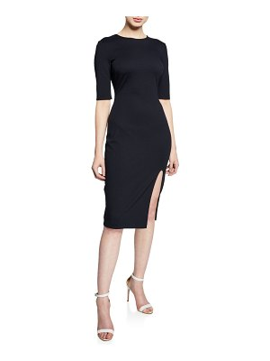 Bailey 44 Vive La Difference Elbow-Sleeve Ponte Dress