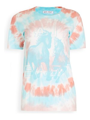 Baja East bi-level distressed tee