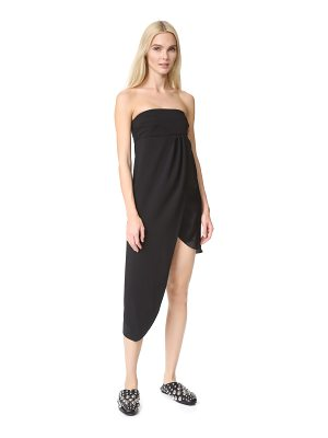 Baja East strapless dress