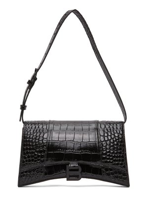 Balenciaga black hourglass shoulder bag