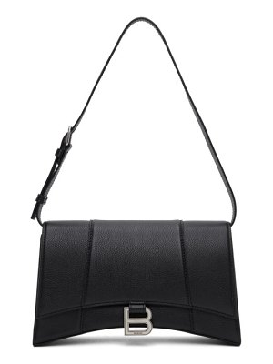Balenciaga black hourglass sling bag