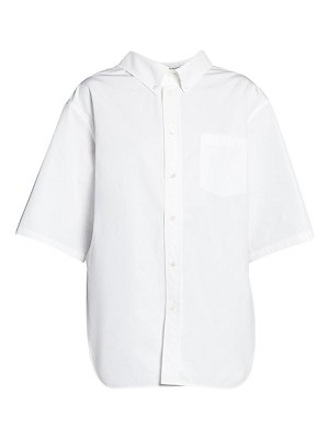 Balenciaga boxy cotton shirt