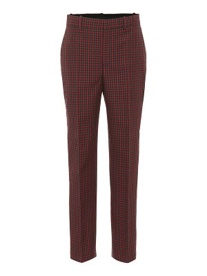 Balenciaga Checked wool pants