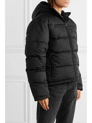 Balenciaga embroidered quilted ripstop coat