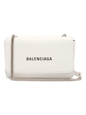 Balenciaga everyday leather cross body bag