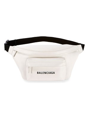 Balenciaga Everyday Pebbled Leather Belt Bag