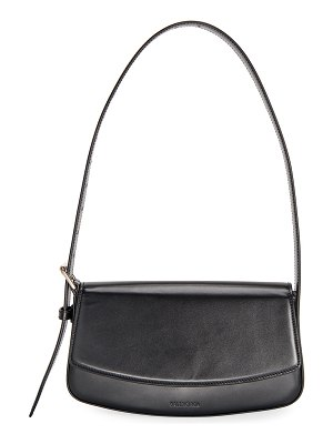 Balenciaga Ghost Flap-Top Shoulder Bag