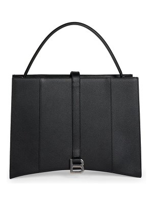 Balenciaga hourglass leather tote