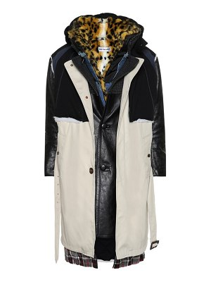 Balenciaga Layered coat