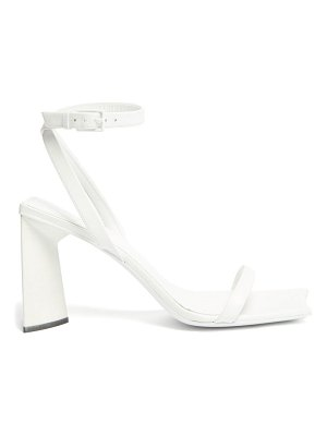 Balenciaga moon square-toe leather sandals